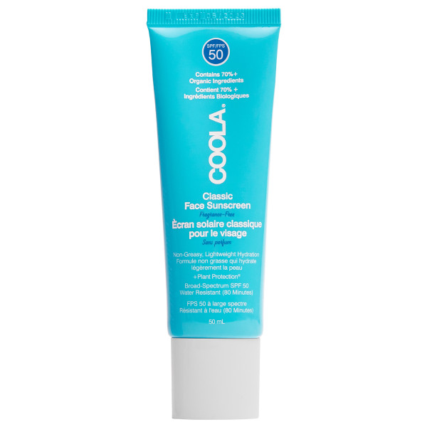Classic Face Lotion SPF50 Unscented