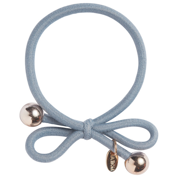 Hair Tie with Gold Bead