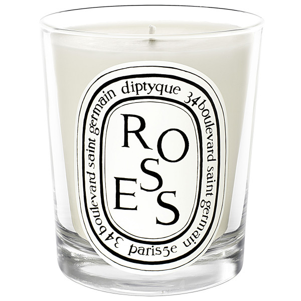 Scented Candle Roses