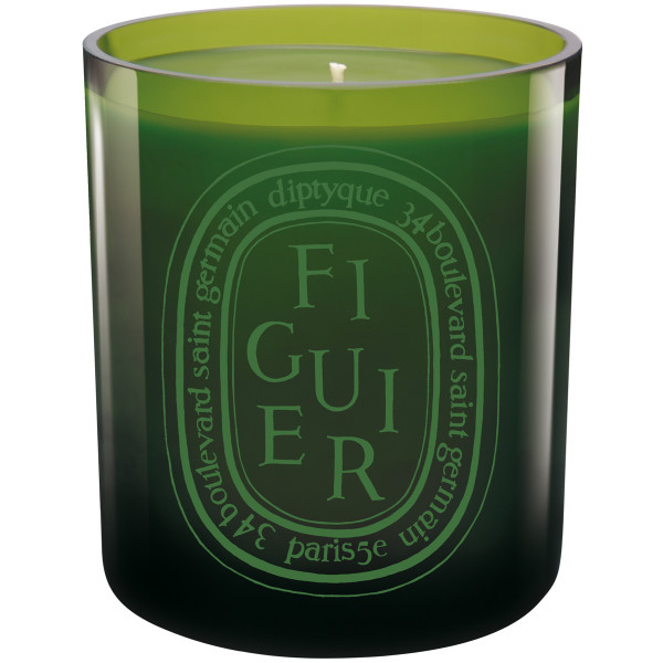 Figuier Colored Scented Candle