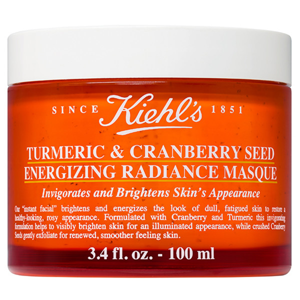 Turmeric and Cranberry Seed Masque